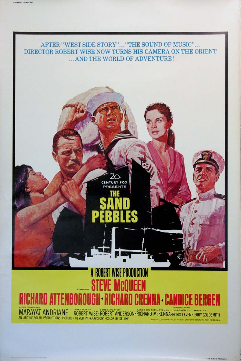 SAND PEBBLES, THE @ FilmPosters.com