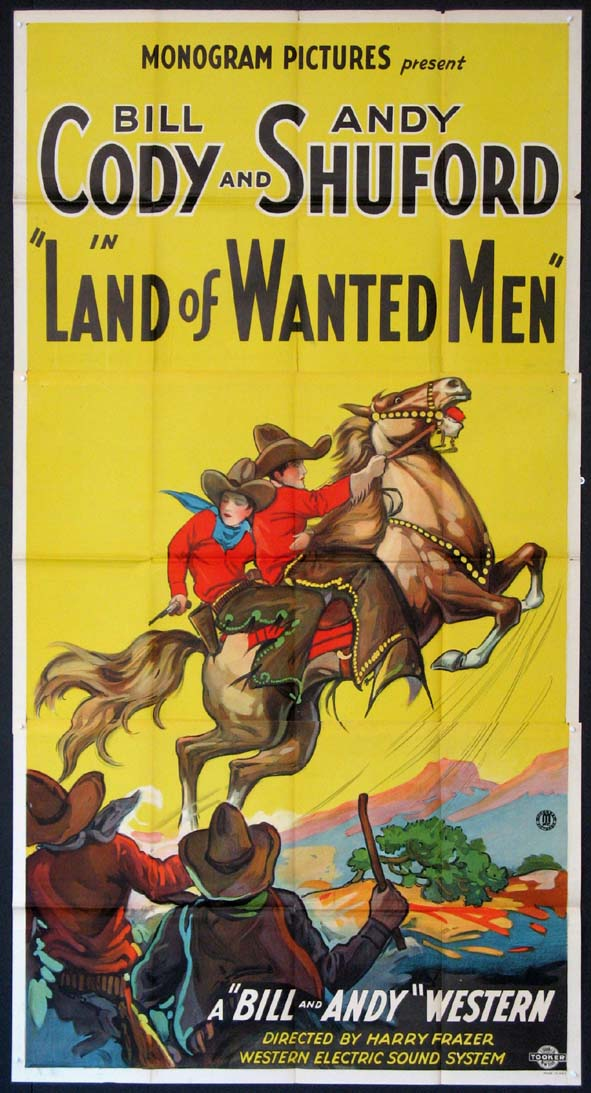 LAND OF WANTED MEN @ FilmPosters.com