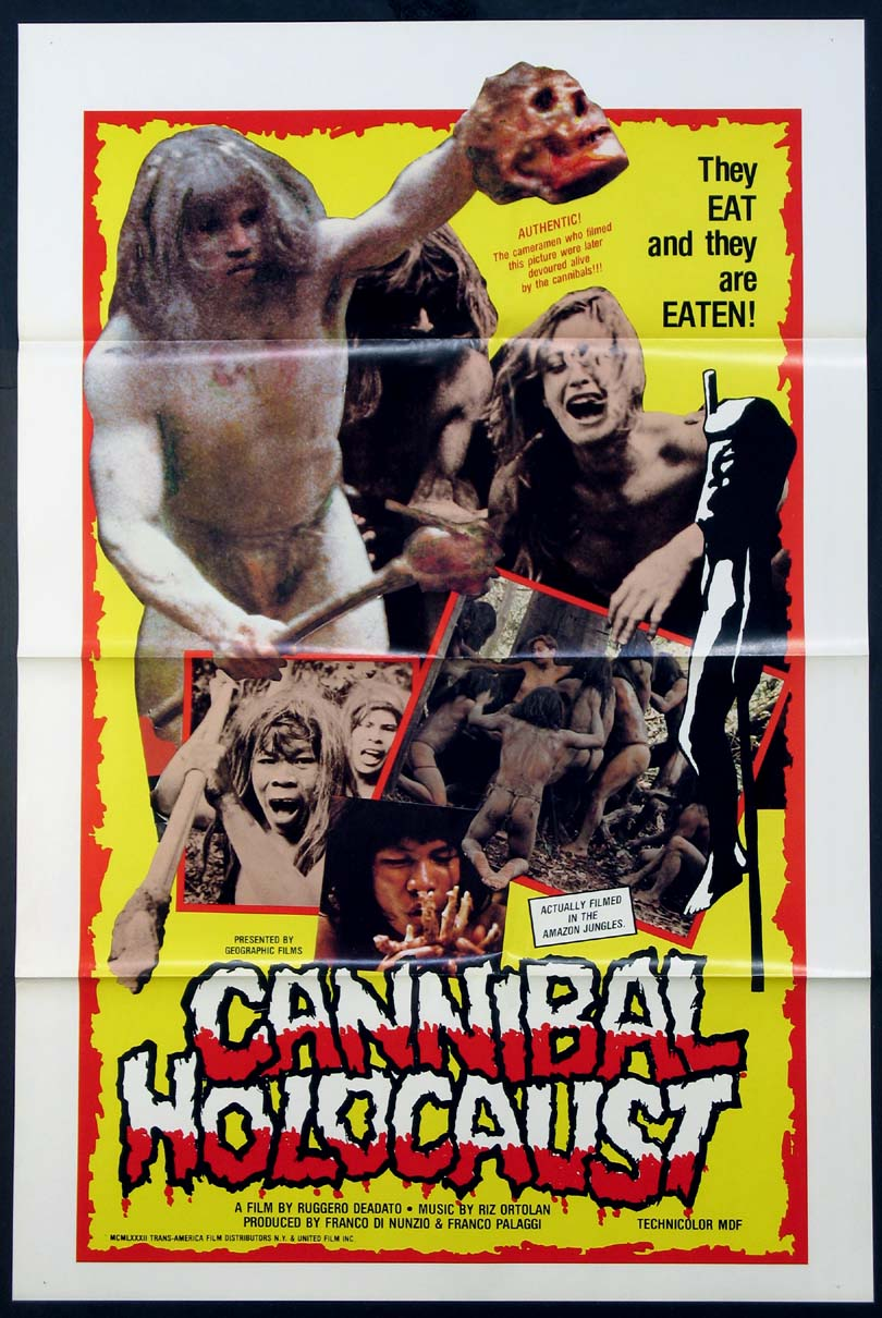 CANNIBAL HOLOCAUST @ FilmPosters.com