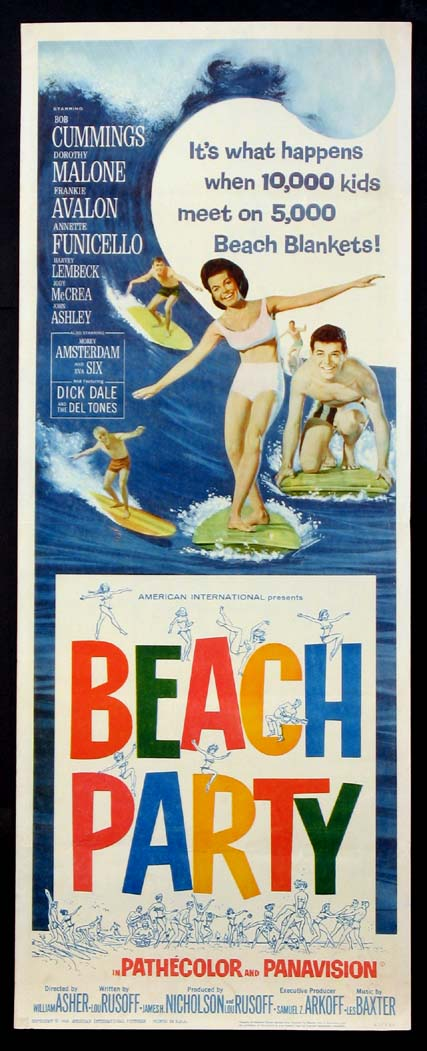 BEACH PARTY @ FilmPosters.com