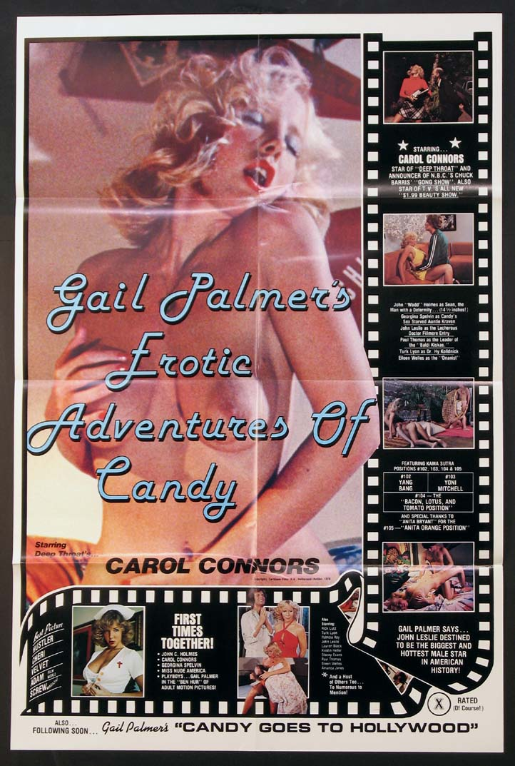 GAIL PALMER'S EROTIC ADVENTURES OF CANDY @ FilmPosters.com