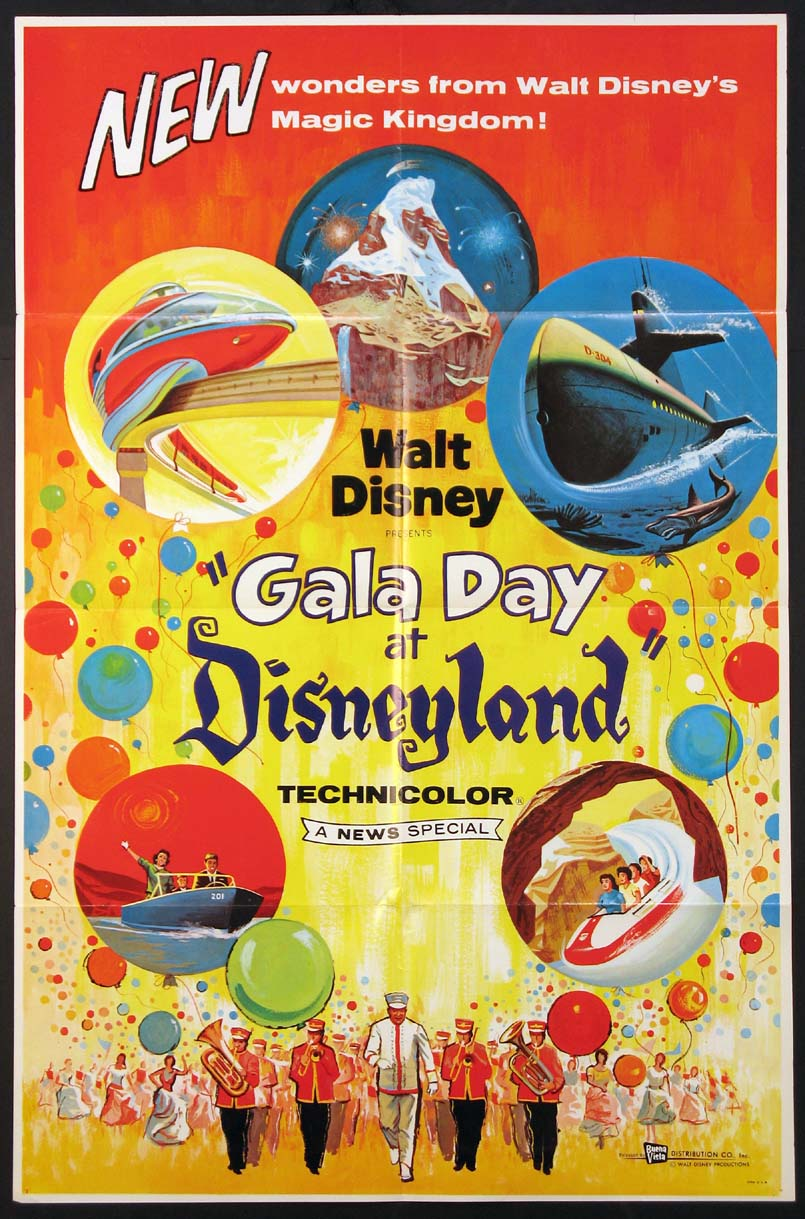 GALA DAY AT DISNEYLAND @ FilmPosters.com