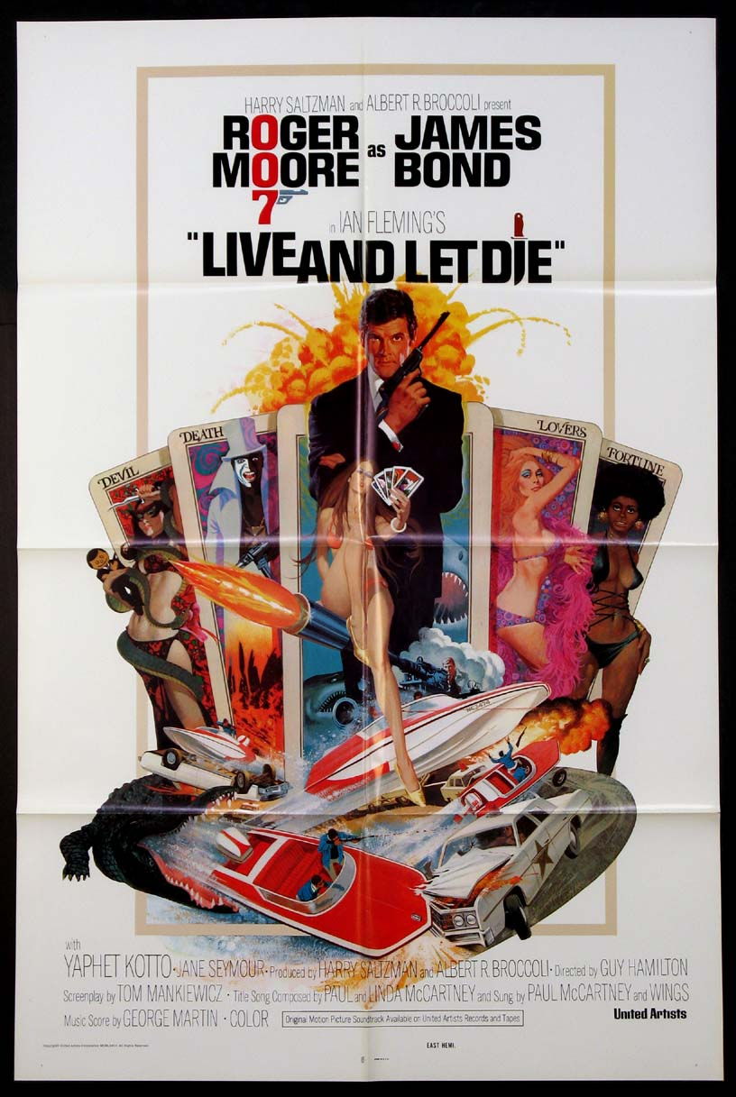 LIVE AND LET DIE (James Bond) @ FilmPosters.com