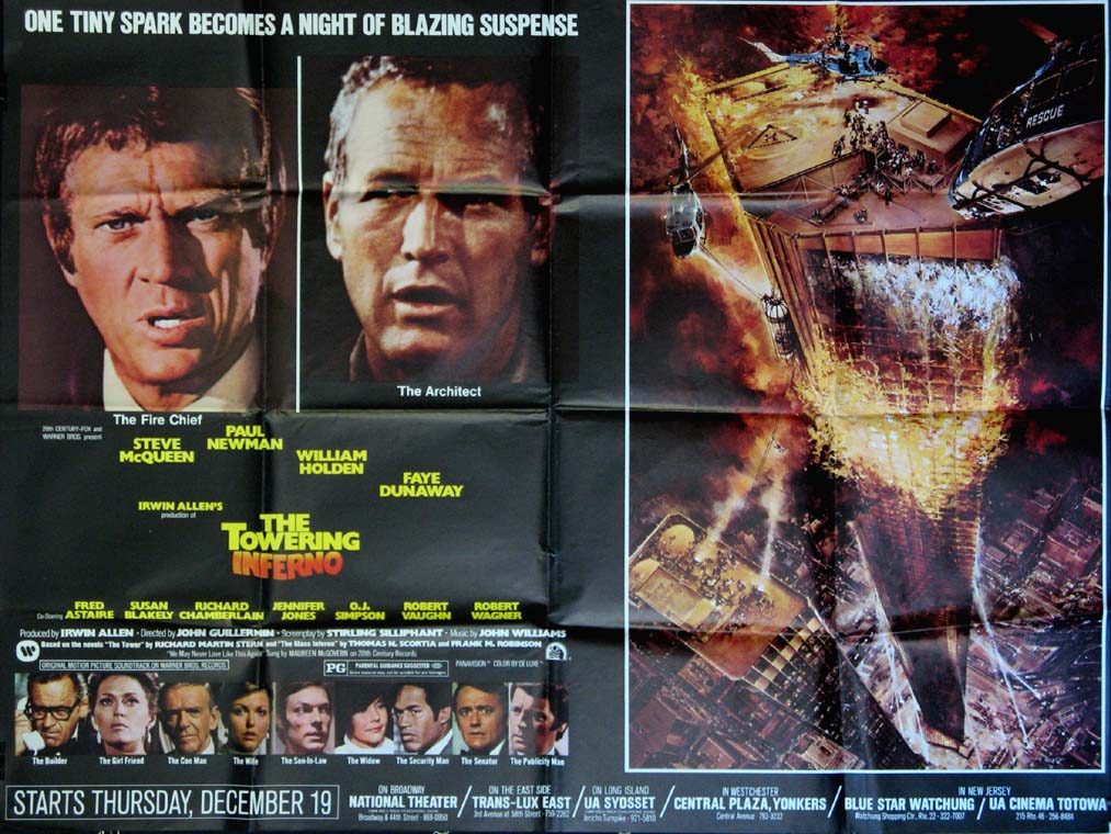 TOWERING INFERNO @ FilmPosters.com