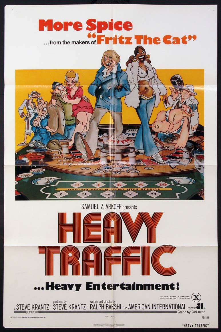 HEAVY TRAFFIC @ FilmPosters.com