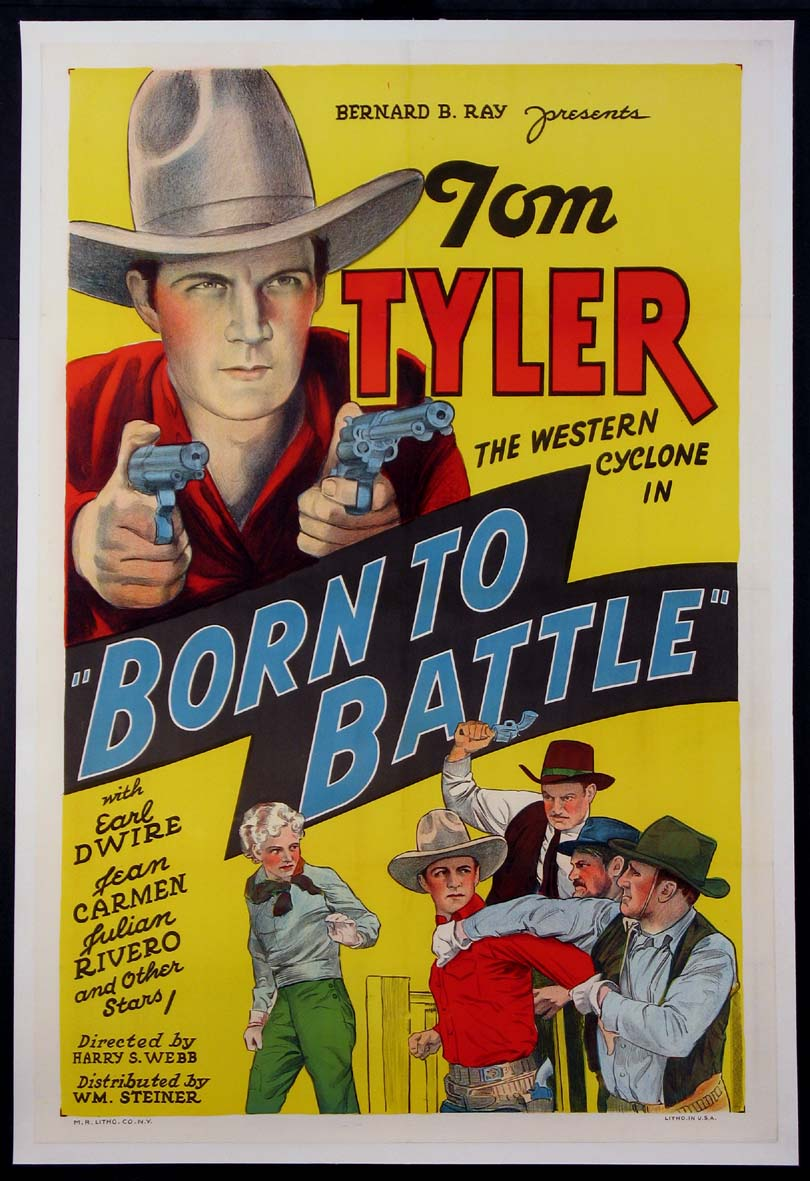 BORN TO BATTLE @ FilmPosters.com