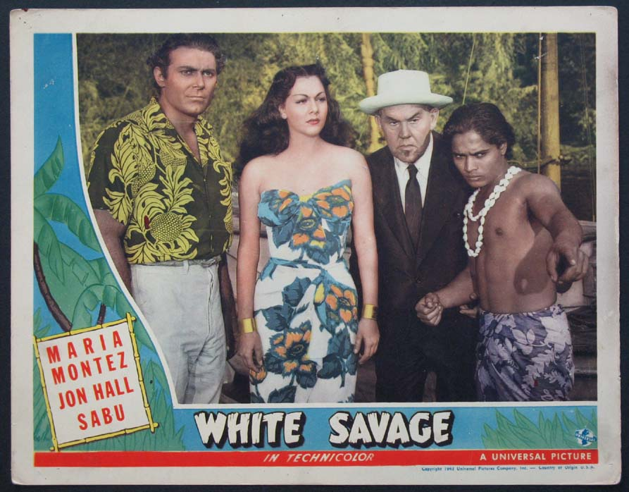 WHITE SAVAGE @ FilmPosters.com