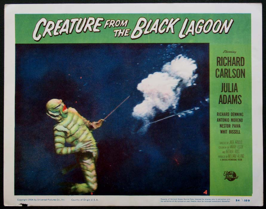CREATURE FROM THE BLACK LAGOON @ FilmPosters.com