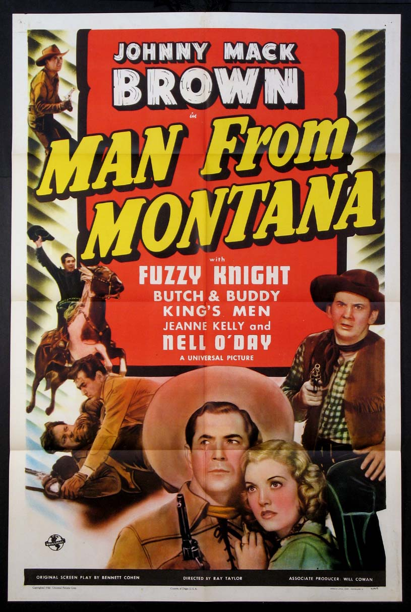 MAN FROM MONTANA @ FilmPosters.com