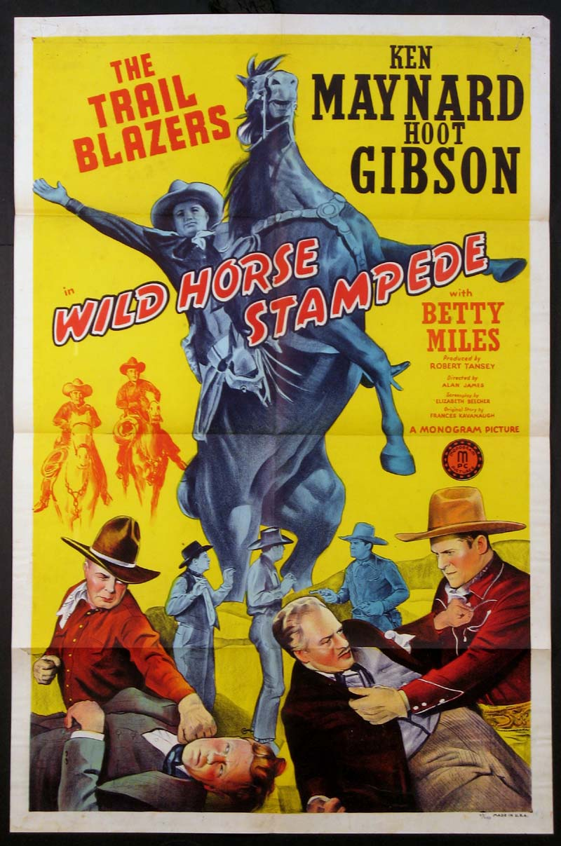 WILD HORSE STAMPEDE @ FilmPosters.com