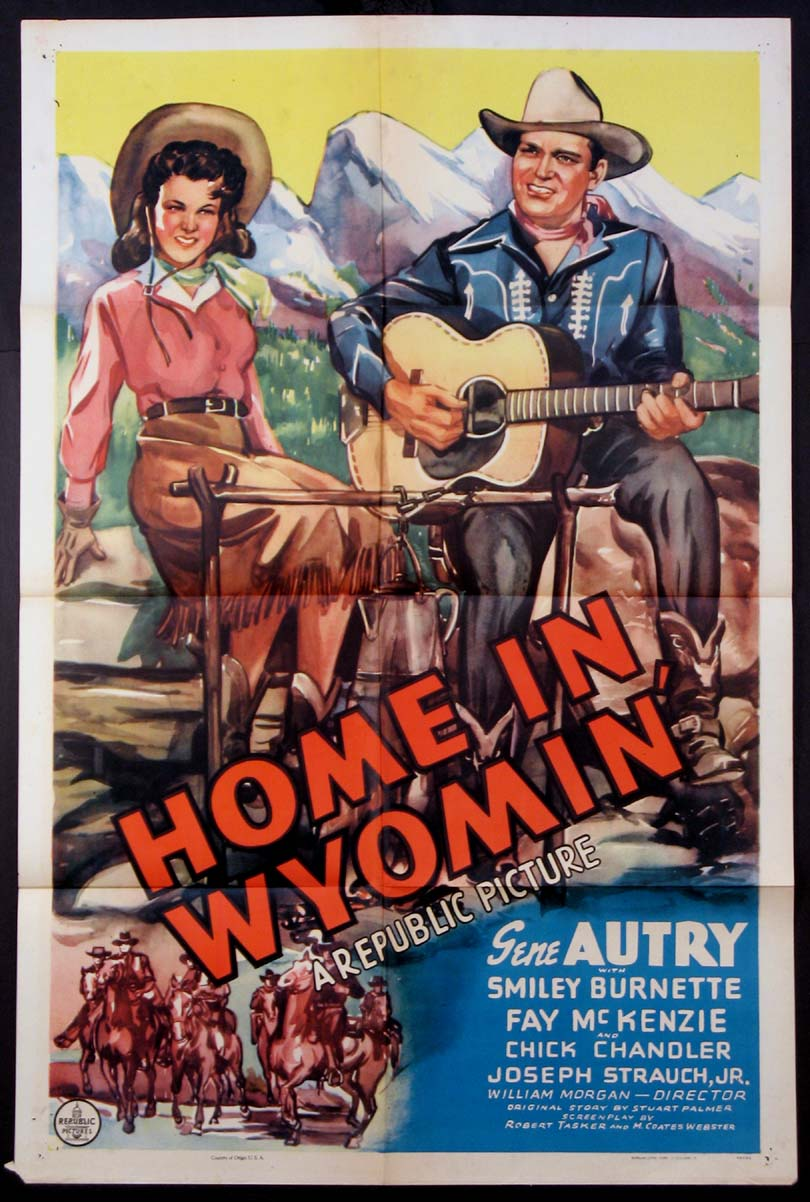 HOME IN WYOMIN' @ FilmPosters.com
