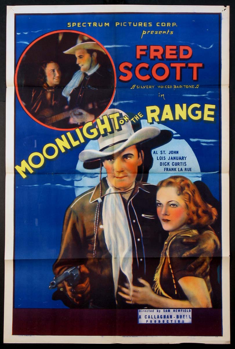 MOONLIGHT ON THE RANGE @ FilmPosters.com