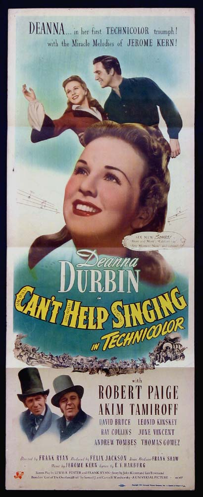 CAN'T HELP SINGING @ FilmPosters.com