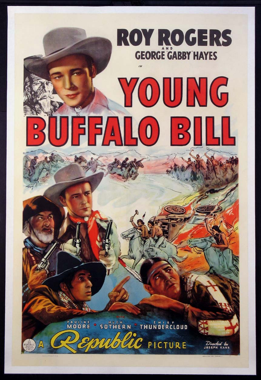 YOUNG BUFFALO BILL @ FilmPosters.com