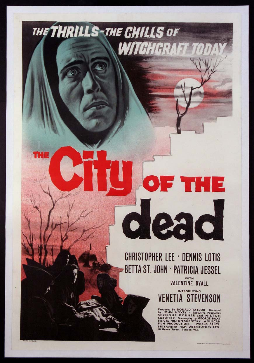 CITY OF THE DEAD (aka HORROR HOTEL) @ FilmPosters.com