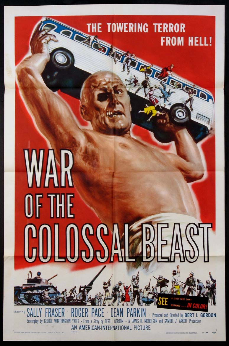 WAR OF THE COLOSSAL BEAST @ FilmPosters.com