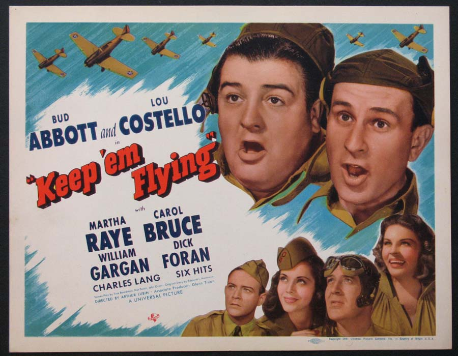 KEEP 'EM FLYING (Abbott and Costello Keep Em Flying) @ FilmPosters.com