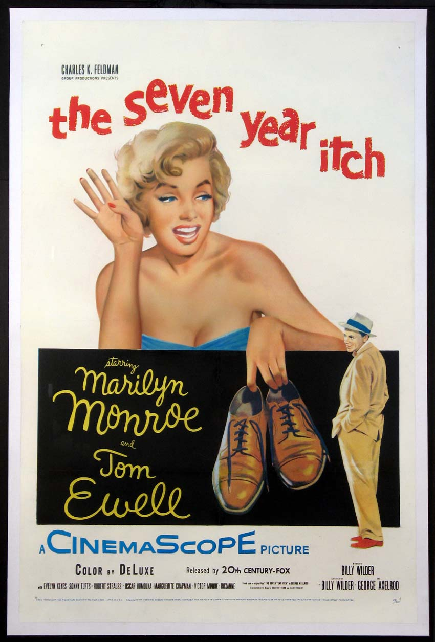 SEVEN YEAR ITCH, THE (The Seven-Year Itch) @ FilmPosters.com