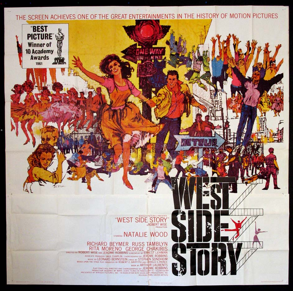 WEST SIDE STORY @ FilmPosters.com