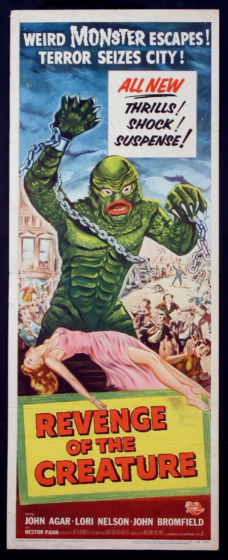 REVENGE OF THE CREATURE @ FilmPosters.com