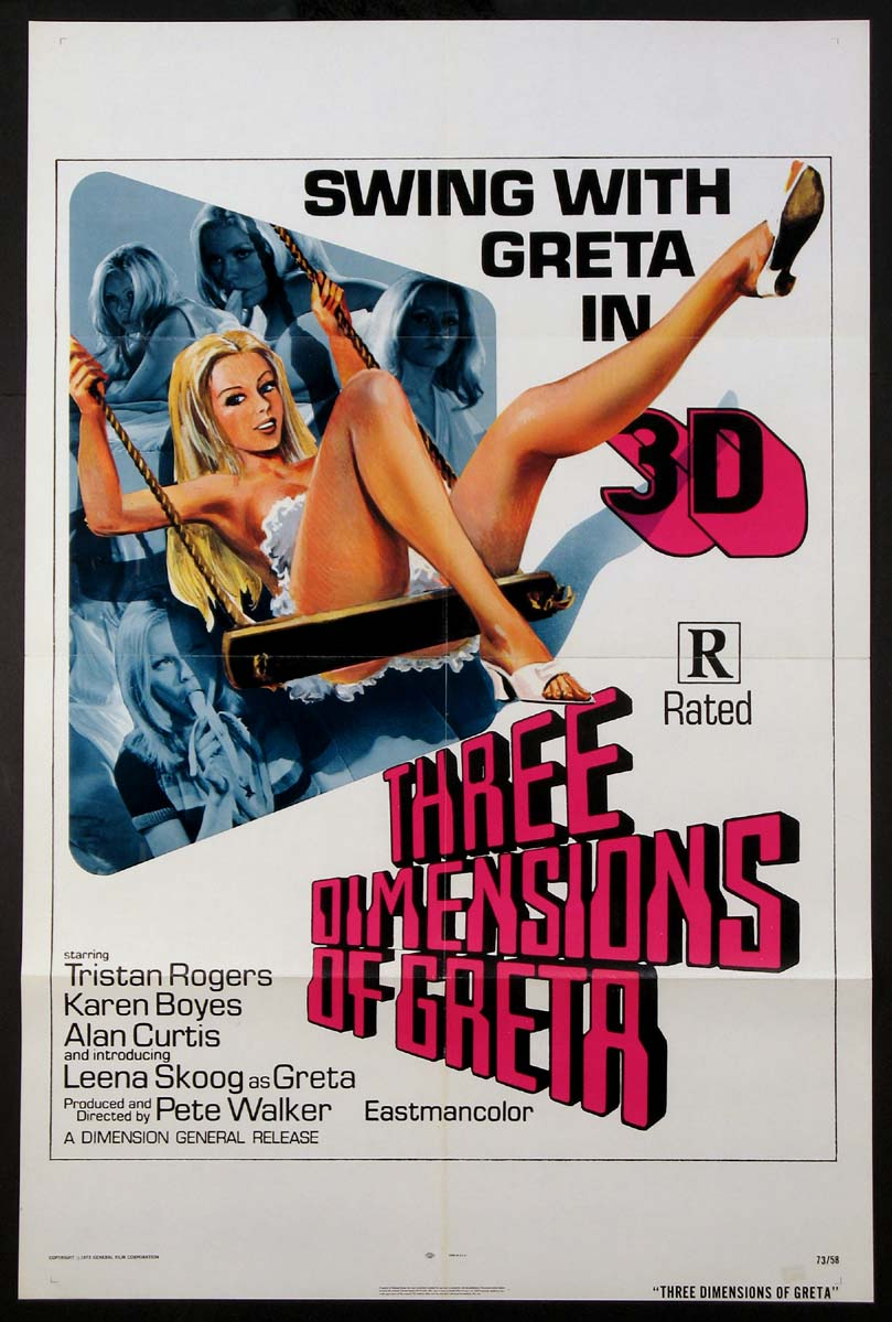 THREE DIMENSIONS OF GRETA @ FilmPosters.com