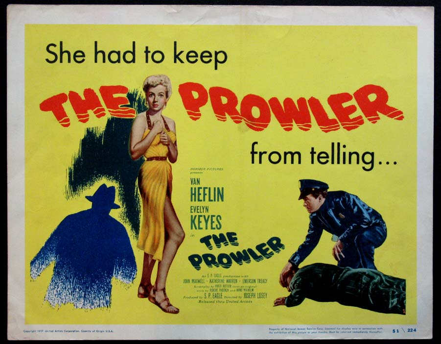 PROWLER, THE (The Prowler) @ FilmPosters.com
