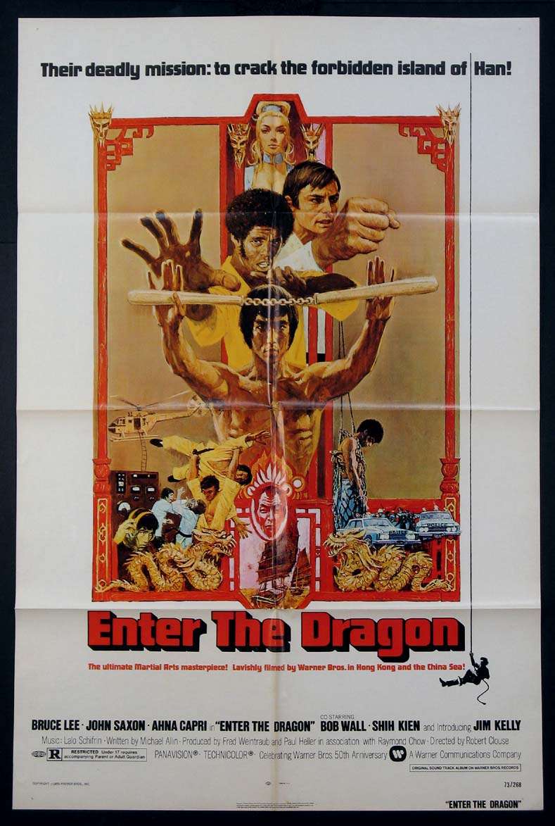 ENTER THE DRAGON @ FilmPosters.com