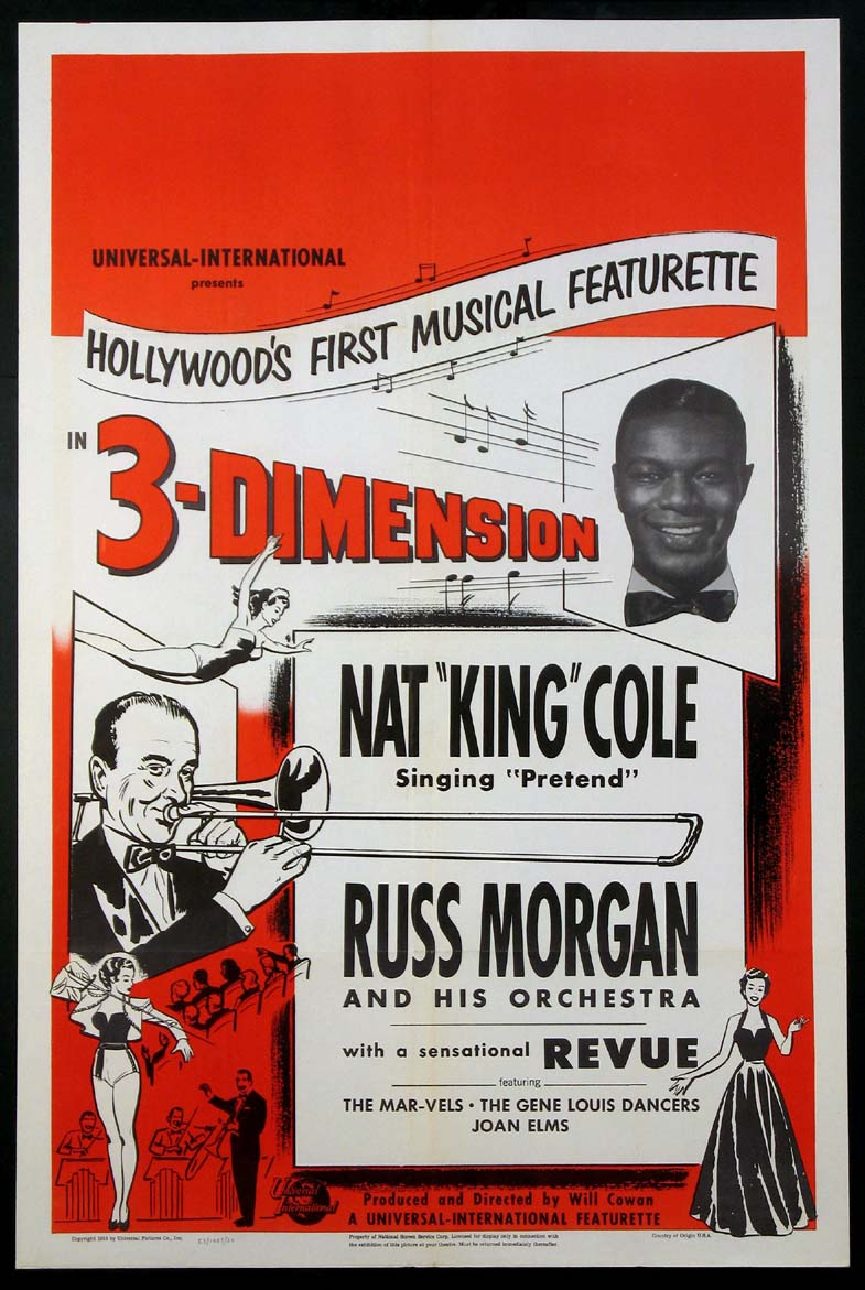 NAT KING COLE AND RUSS MORGAN AND HIS ORCHESTRA @ FilmPosters.com