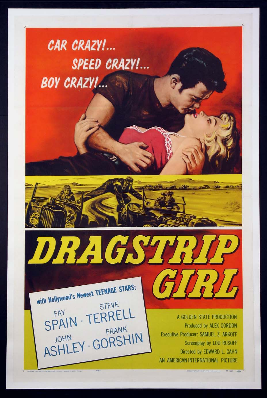 DRAGSTRIP GIRL @ FilmPosters.com