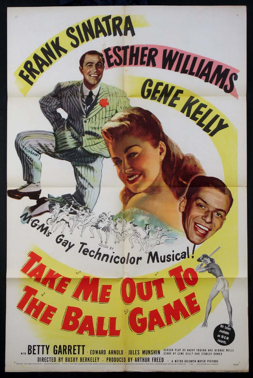 TAKE ME OUT TO THE BALL GAME @ FilmPosters.com