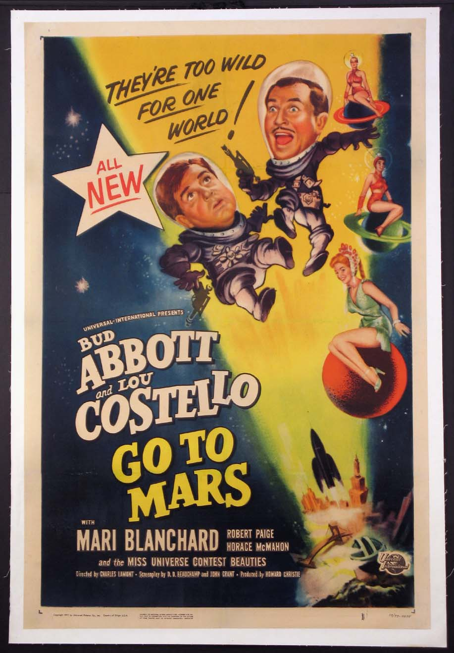 ABBOTT AND COSTELLO GO TO MARS @ FilmPosters.com