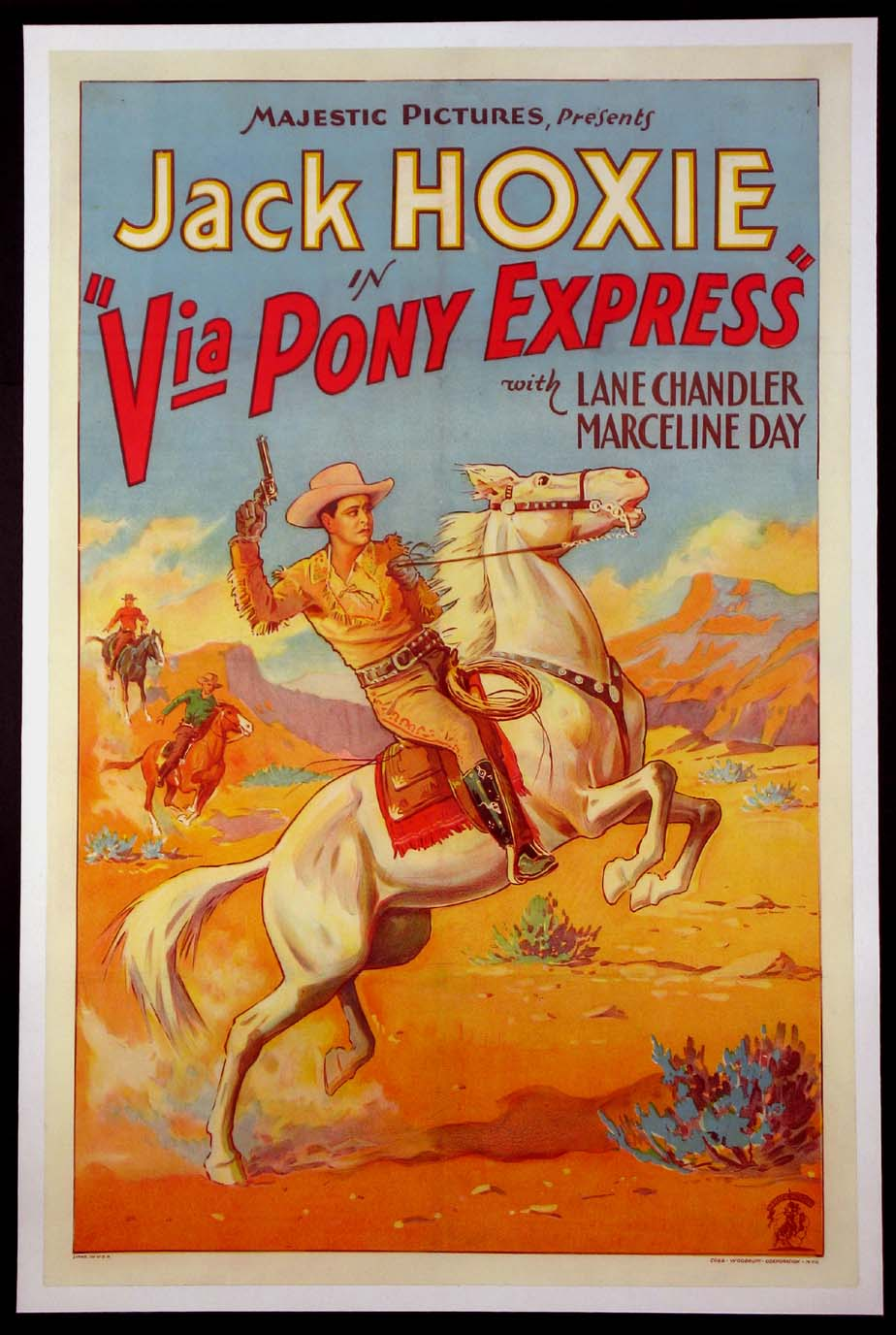 VIA PONY EXPRESS @ FilmPosters.com