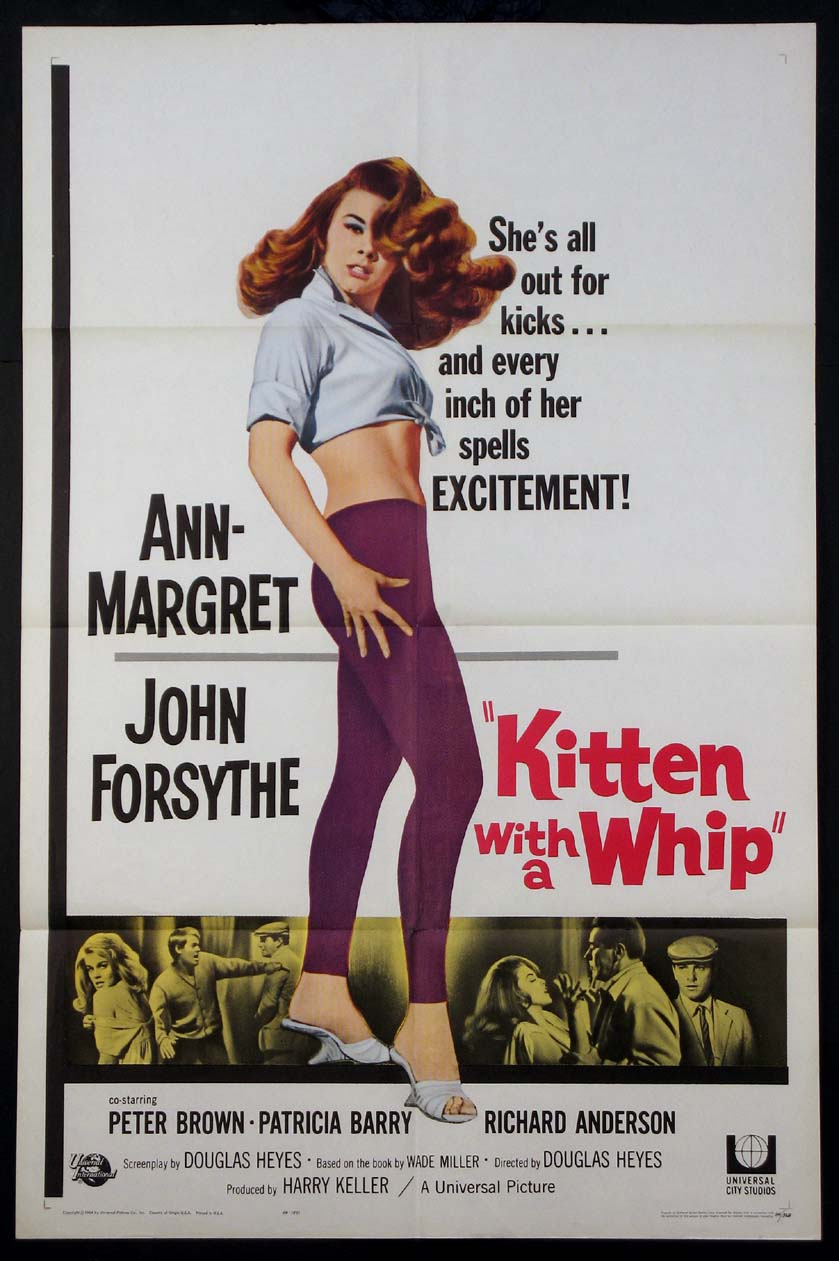 KITTEN WITH A WHIP @ FilmPosters.com