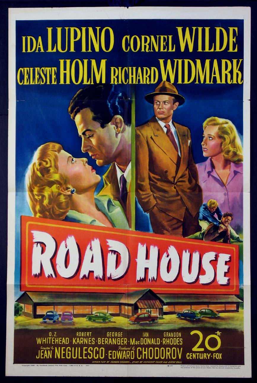 ROAD HOUSE (Roadhouse) @ FilmPosters.com