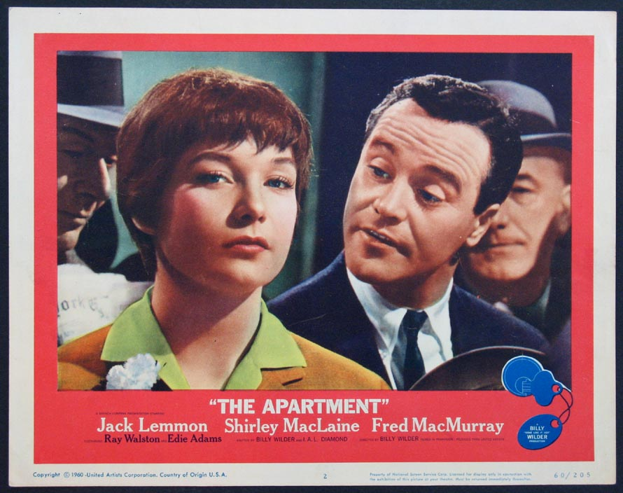 APARTMENT, THE (The Apartment) @ FilmPosters.com
