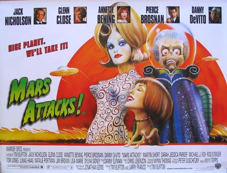 MARS ATTACKS! @ FilmPosters.com