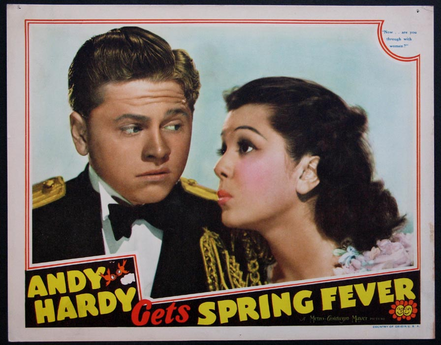ANDY HARDY GETS SPRING FEVER @ FilmPosters.com