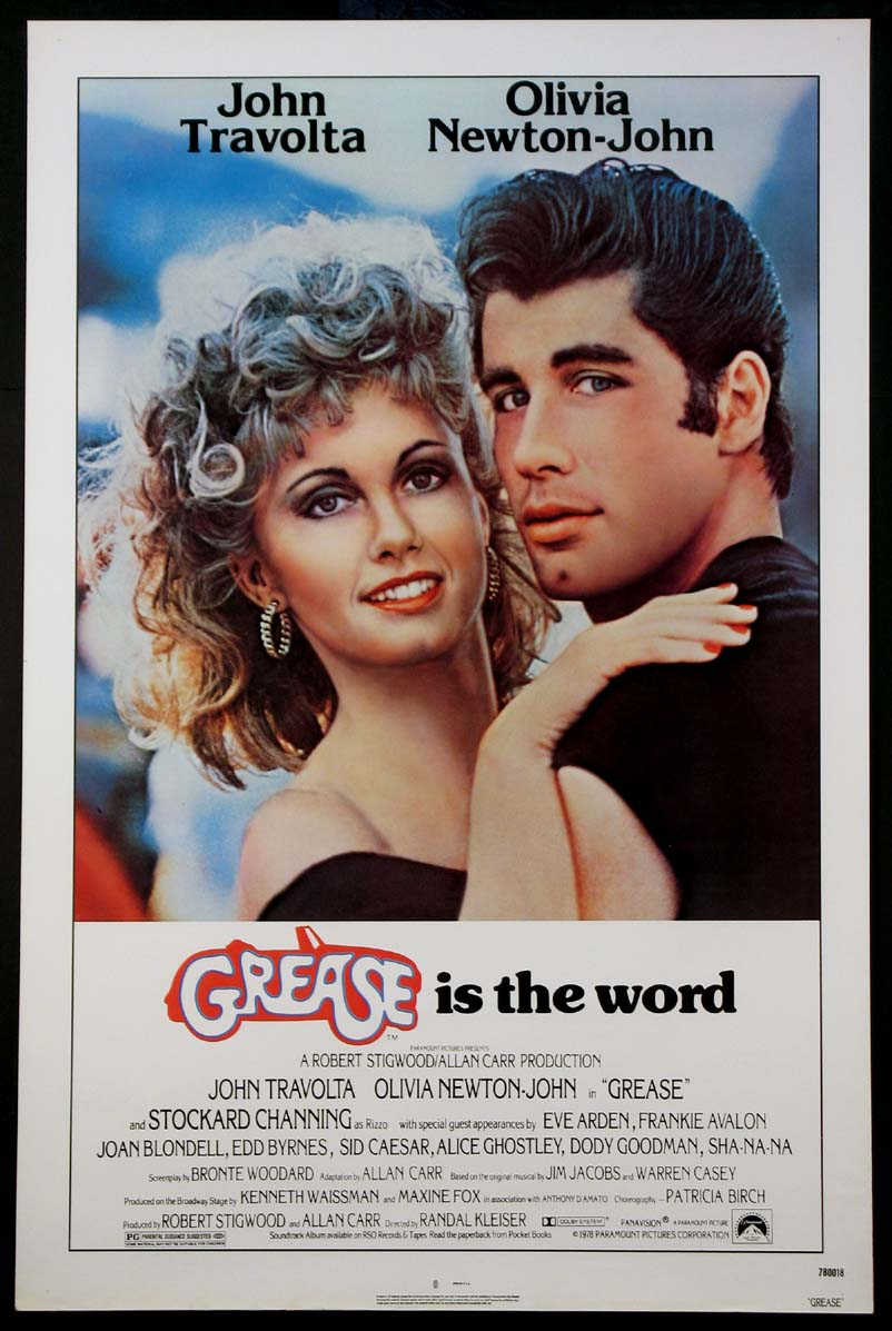 GREASE @ FilmPosters.com