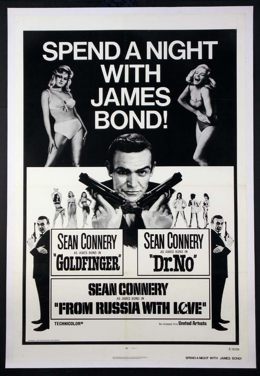 GOLDFINGER / DR. NO / FROM RUSSIA WITH LOVE @ FilmPosters.com