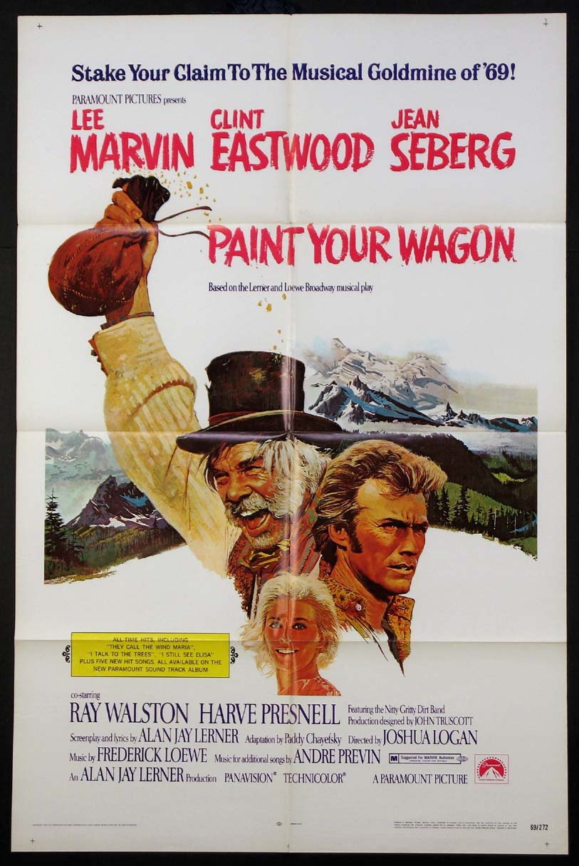 PAINT YOUR WAGON @ FilmPosters.com