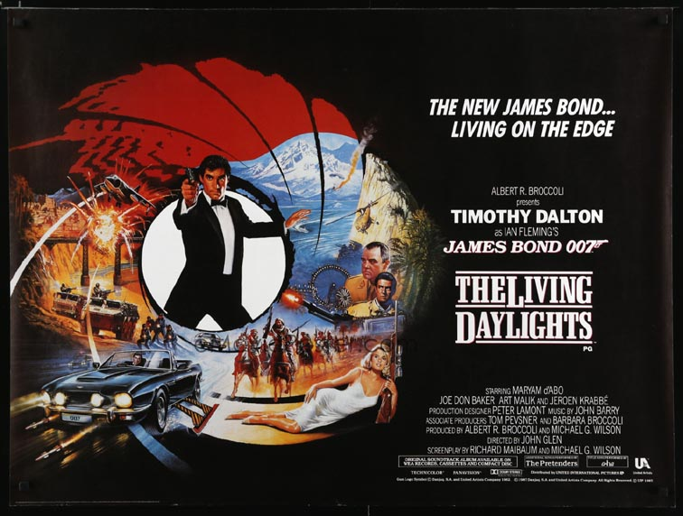 LIVING DAYLIGHTS, THE @ FilmPosters.com