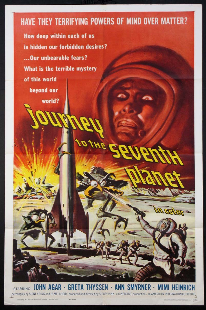 JOURNEY TO THE SEVENTH PLANET @ FilmPosters.com