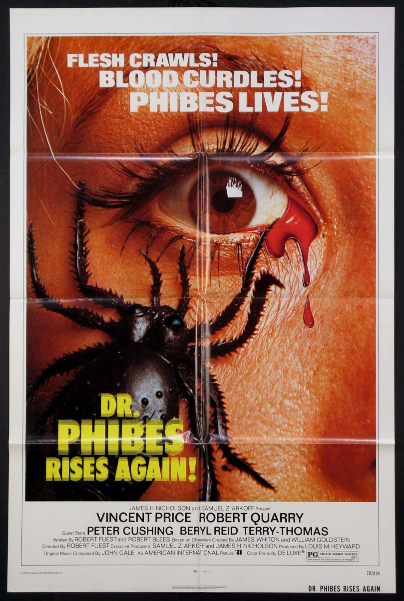 DOCTOR PHIBES RISES AGAIN @ FilmPosters.com