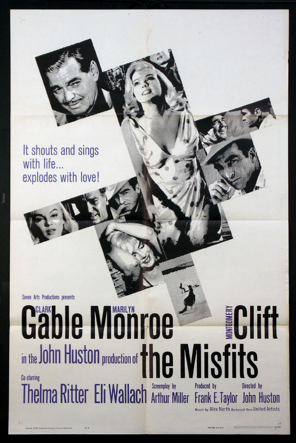 MISFITS, THE (The Misfits) @ FilmPosters.com