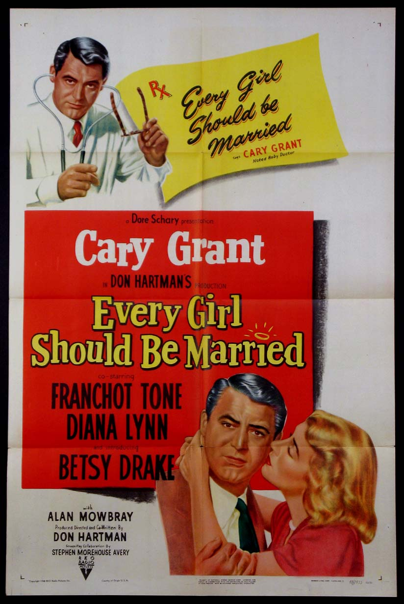 EVERY GIRL SHOULD BE MARRIED @ FilmPosters.com