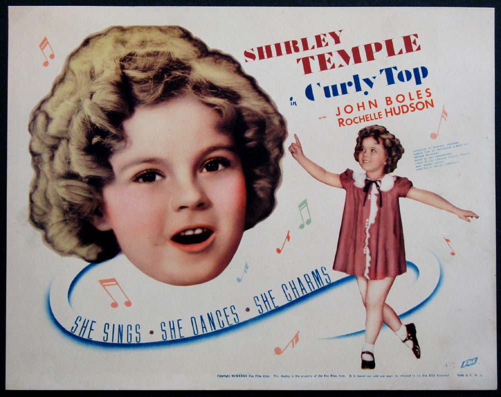 CURLY TOP @ FilmPosters.com