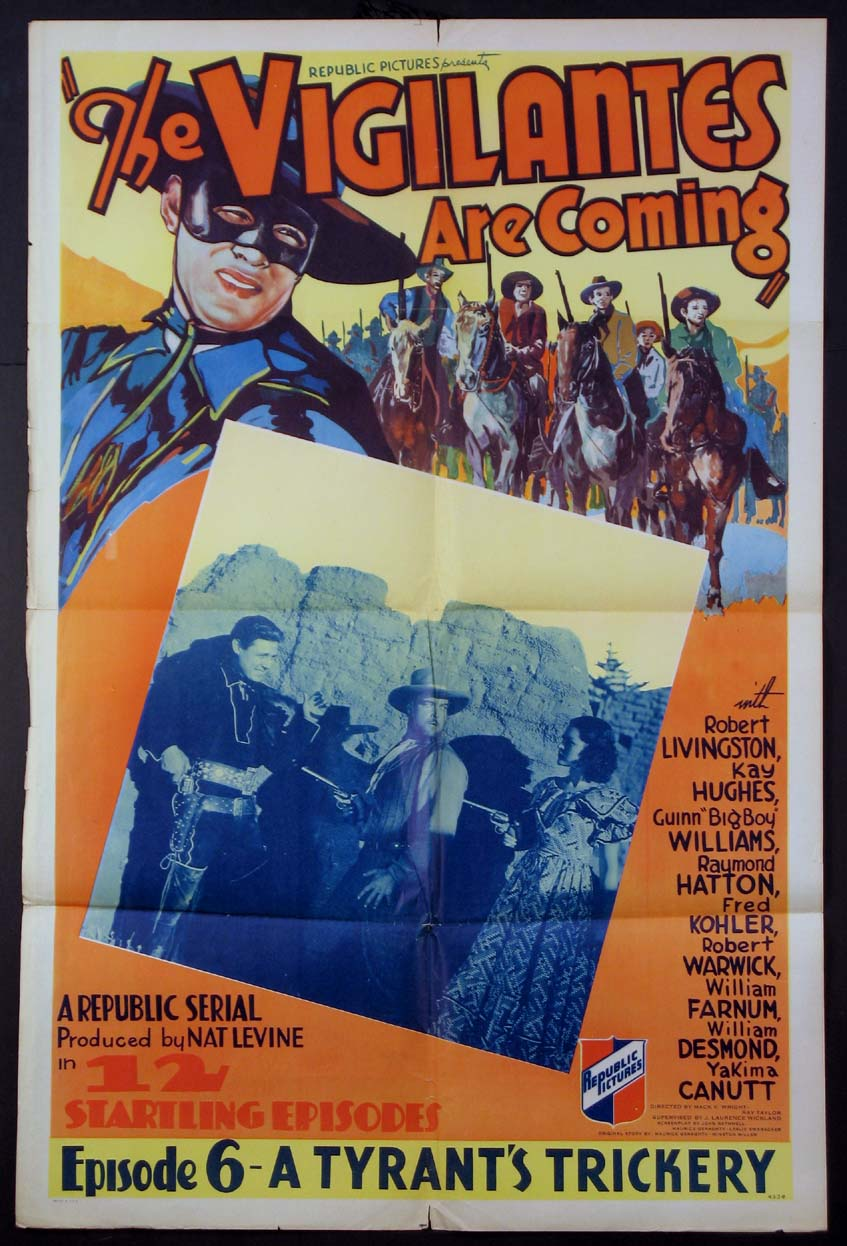 VIGILANTES ARE COMING @ FilmPosters.com