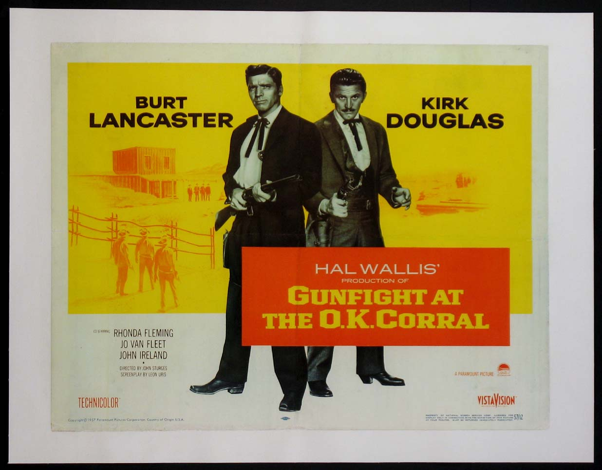 GUNFIGHT AT THE O.K. CORRAL @ FilmPosters.com