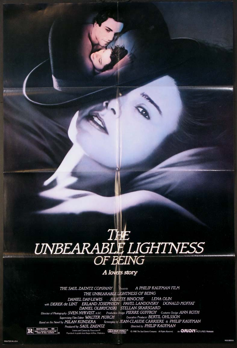 UNBEARABLE LIGHTNESS OF BEING @ FilmPosters.com