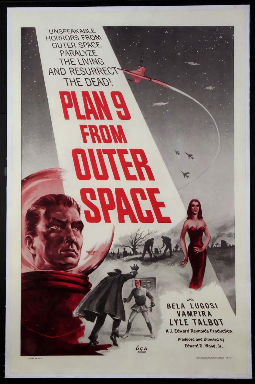 PLAN 9 FROM OUTER SPACE (Plan Nine from Outer Space) @ FilmPosters.com